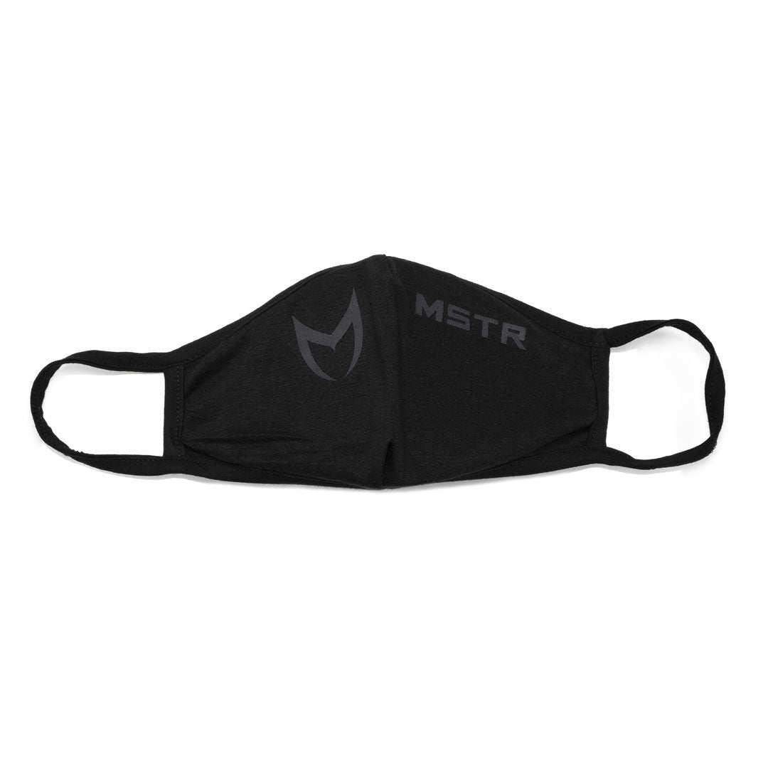 MSK-4 3D FACE MASK BLACK 2 Pack