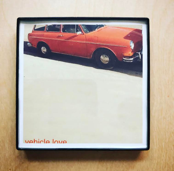 """Vehicle Love"" 4x4 Print Framed"