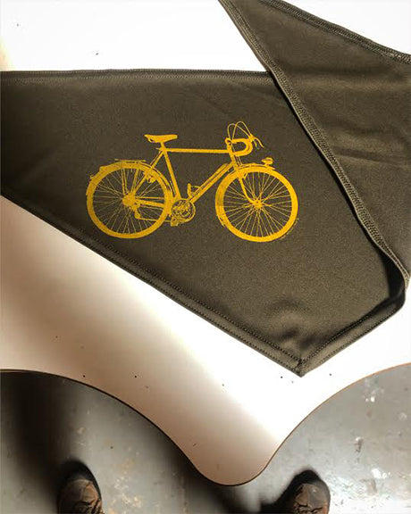 """Bicycle"" { Bandana ART / face mask }"