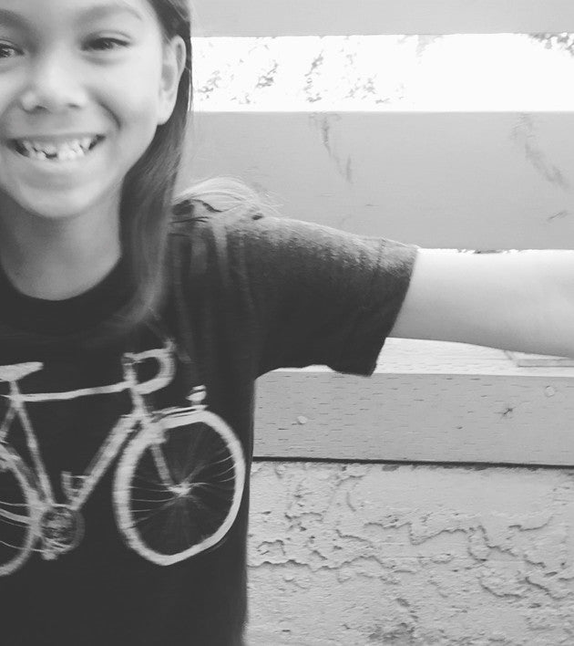 """Bicycle"" Kids super soft-Blend Tee"