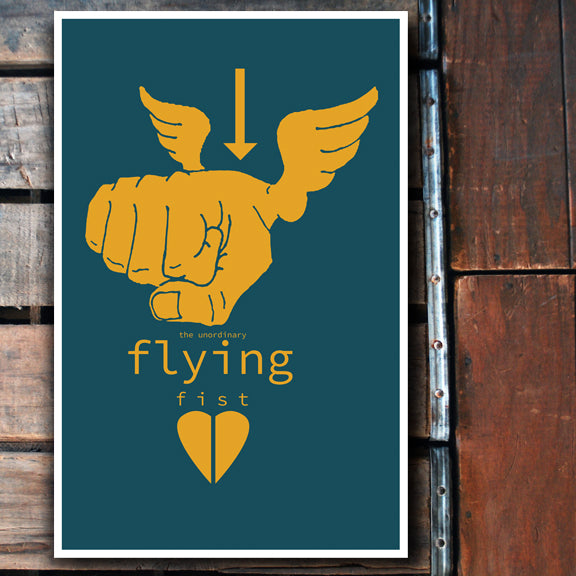 """Flying Fist"" 11x17 Poster"
