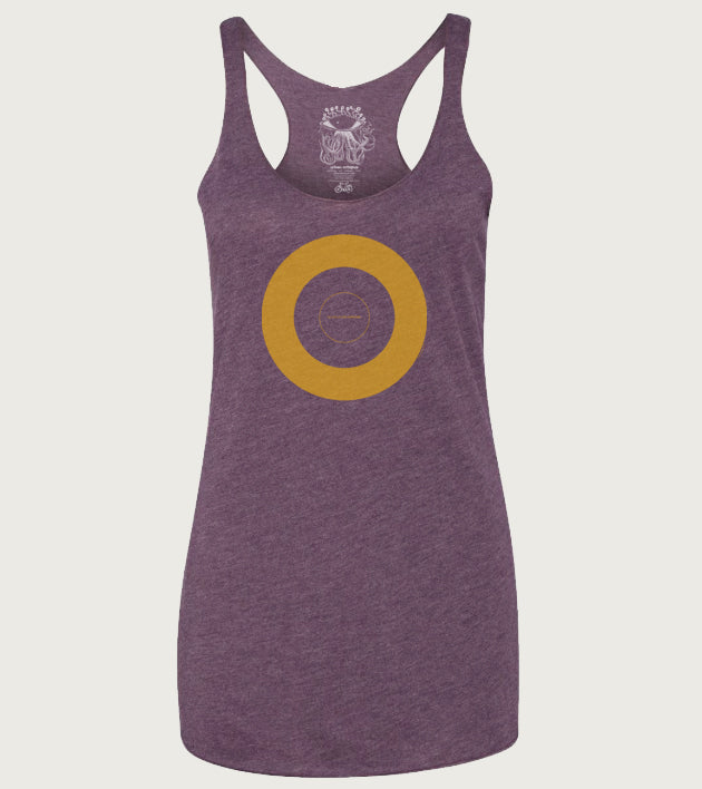 """Private Universe"" Ladies Tri-Blend Racerback Tank"