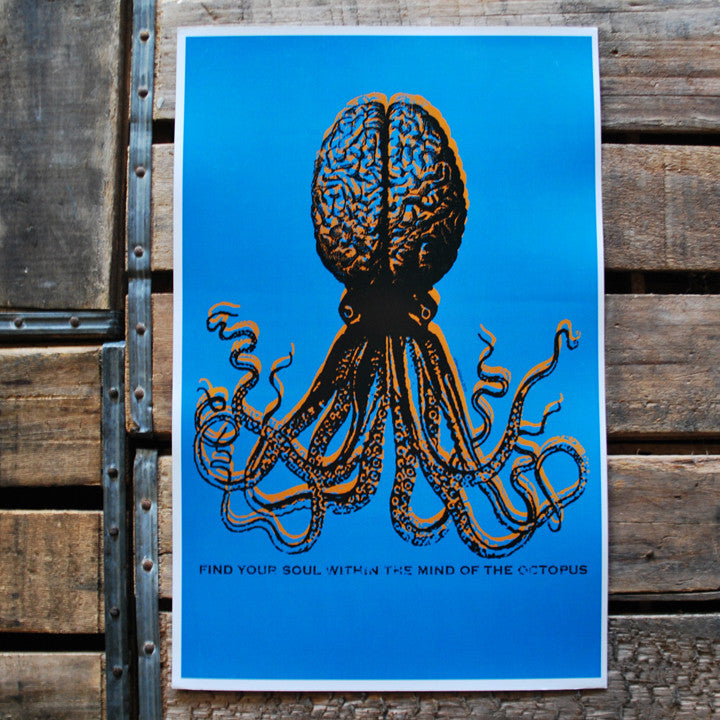 """Octopus Mind"" 11x17 Poster"