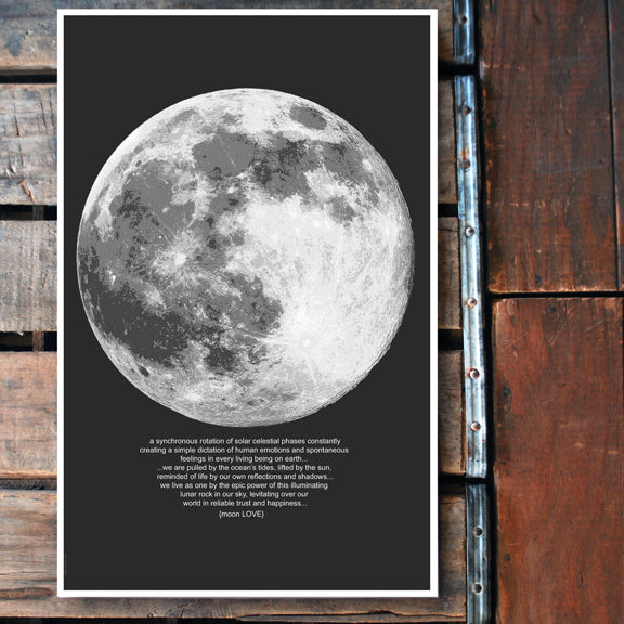 """Moon Love"" 11x17 Poster"