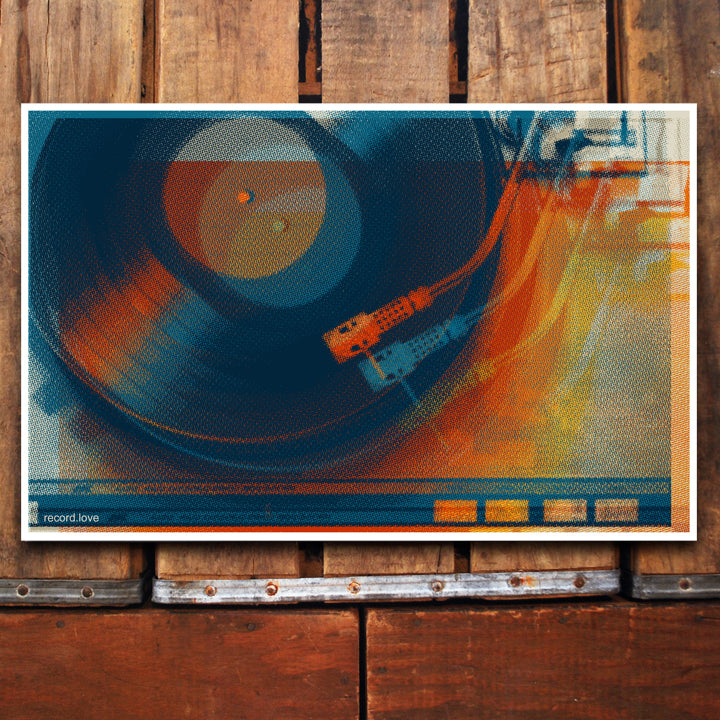 """Record Love Blur"" 11x17 Poster"