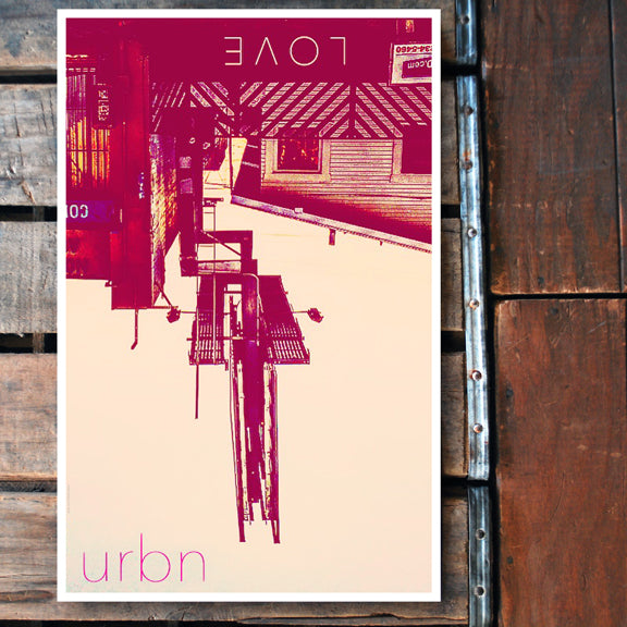 """URBN LOVE"" 11x17 Poster"