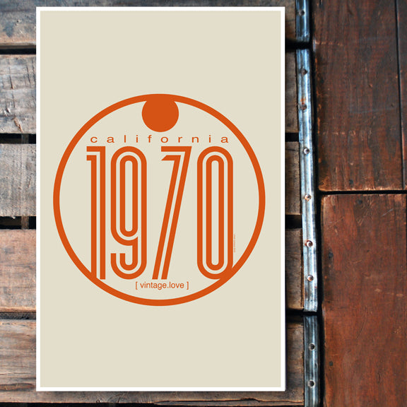 """1970"" 11x17 Poster"