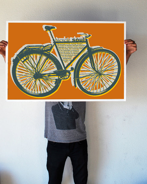"""Bicycle Soul"" 24x36 Giant Poster (New Item!)"