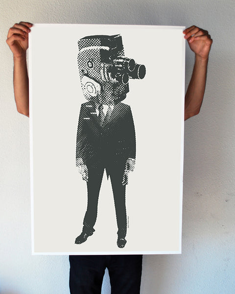 """Camera Man"" 24x36 Giant Poster (New Item!)"