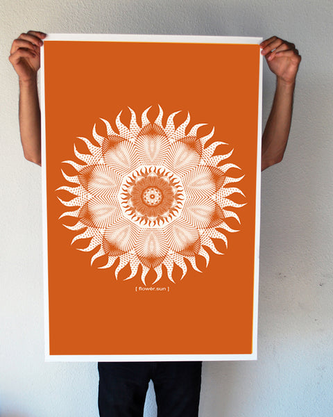 """Flower Sun"" 24x36 Giant Poster (New Item!)"