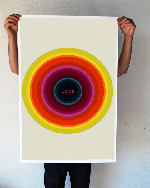 """LOVE"" 24x36 Giant Poster (New Item!)"
