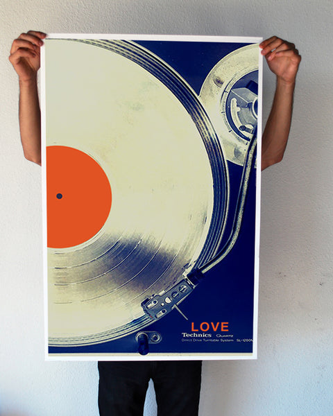 """Record Love"" 24x36 Giant Poster (New Item!)"