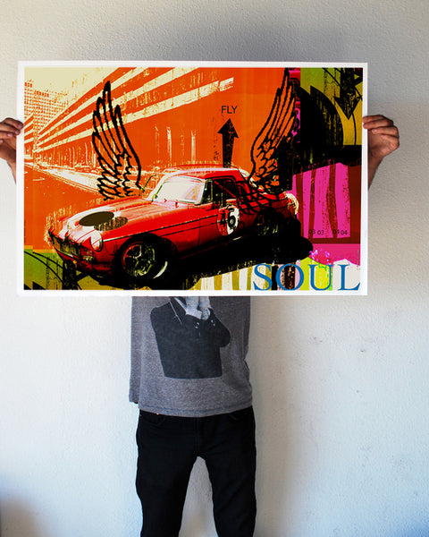 """Soul Fly"" 24x36 Giant Poster (New Item!)"