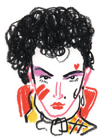 """Sound & Vision II"" by Nathan Jurevicius (Original Sketch) - Adam Ant"