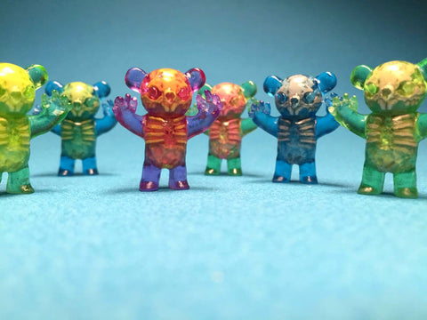 Infected Micro Wootkowski (Assorted Colors) - Scott Wilkowski x Woot Bear