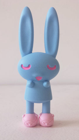Peter Kato's Bedtime Bunnies - Light Blue with Woot Bear Slippers