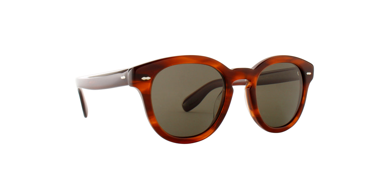 Oliver Peoples - Cary Grant Grant Tortoise   Round Women Sunglasses - 50mm