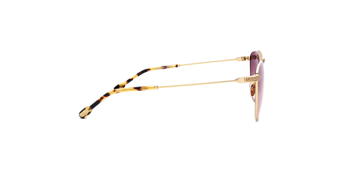 Fred - FG40014U Shiny Endura Gold Square Women Sunglasses - 58mm-Sunglasses-Designer Eyes