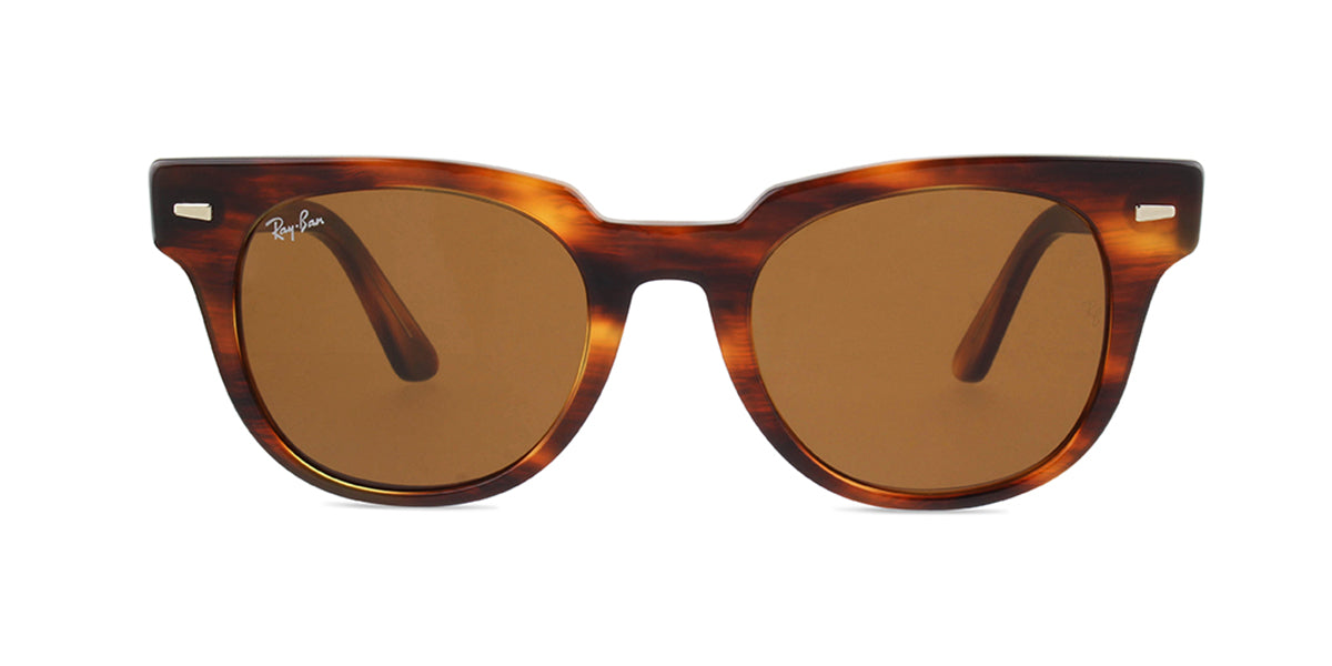 Ray Ban - Meteor Havana/Brown Square Unisex Sunglasses - 50mm