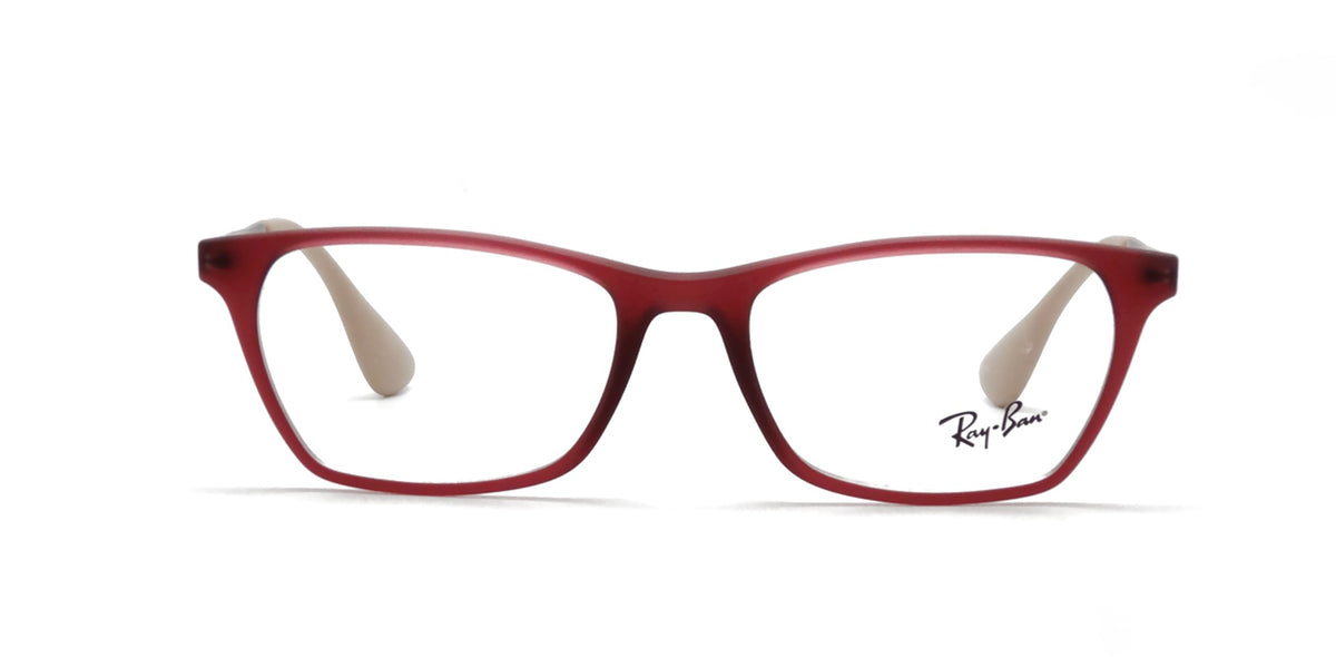 Ray Ban Rx - RX7053 Purple Square Women Eyeglasses - 54mm