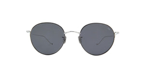Eyevan - EYE774 Silver/Grey Round Unisex Sunglasses - 50mm