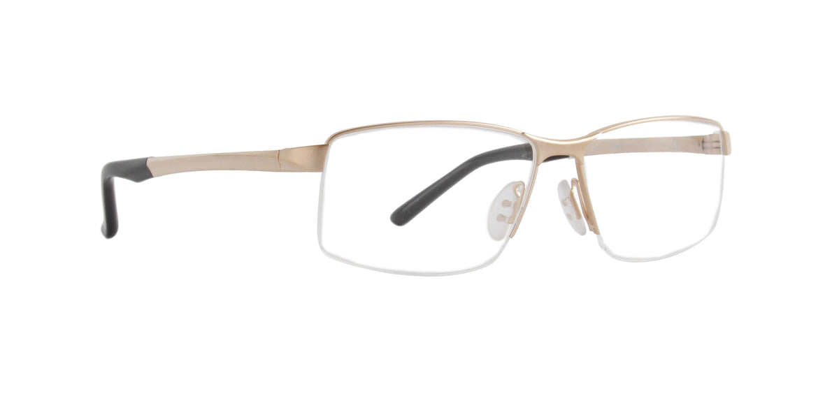 Porsche Design - P8274 light gold Rectangular Men Eyeglasses - 56mm