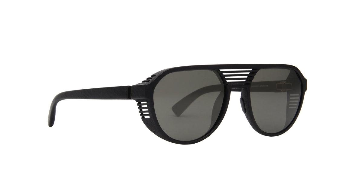 Mykita - Peak Pitch Black/Gray Shield Men Sunglasses - 51mm