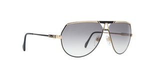 Cazal - CAZ953 Black/Gray Aviator Unisex Sunglasses - 69mm