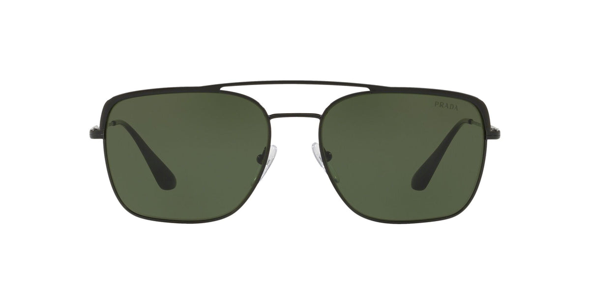 Prada - PR53VS Black/Green Pillow Men Sunglasses - 59mm