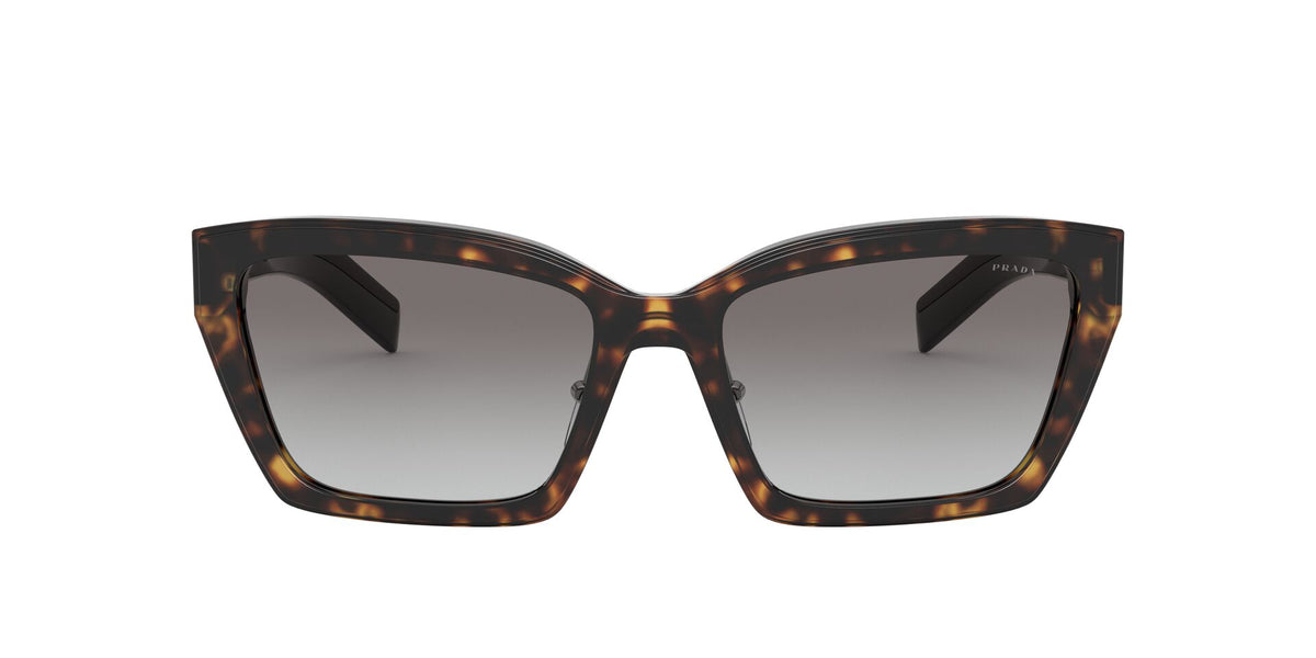 Prada - PR14Xs Havana/Greygradient Cat Eye Women Sunglasses - 56mm