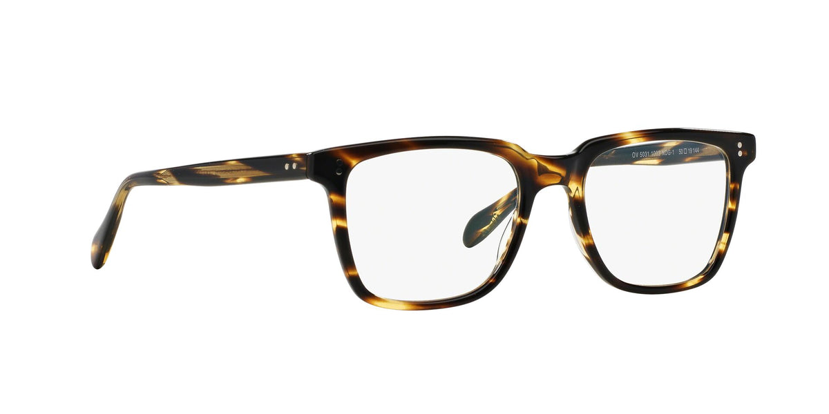 Oliver Peoples - OV5031 NDG Cocobolo Square Men Eyeglasses - 50mm