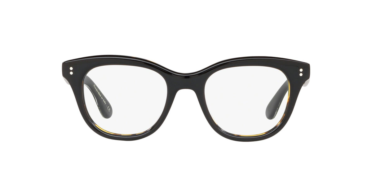 Oliver Peoples - Netta Black Square Men Eyeglasses - 50mm