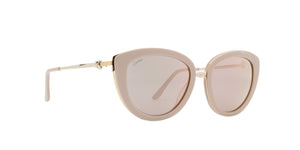 Cartier - CT0247S Nude Gold/Pink Cat Eye Women Sunglasses- 54mm