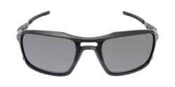 Oakley - Triggerman Black/Gray Rectangular Men Sunglasses - 59mm