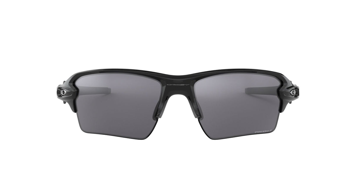 Oakley - Flak 2.0 XL Black/Silver Rectangular Men Sunglasses - 59mm