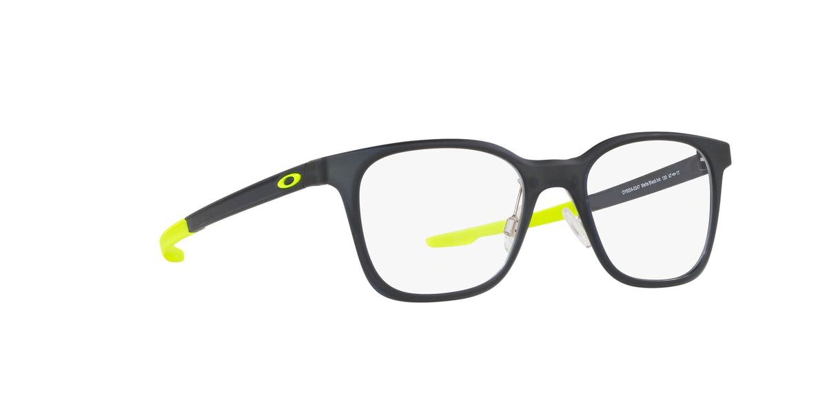 Oakley - Milestone XS Matte Black Ink Square Unisex Eyeglasses - 45mm