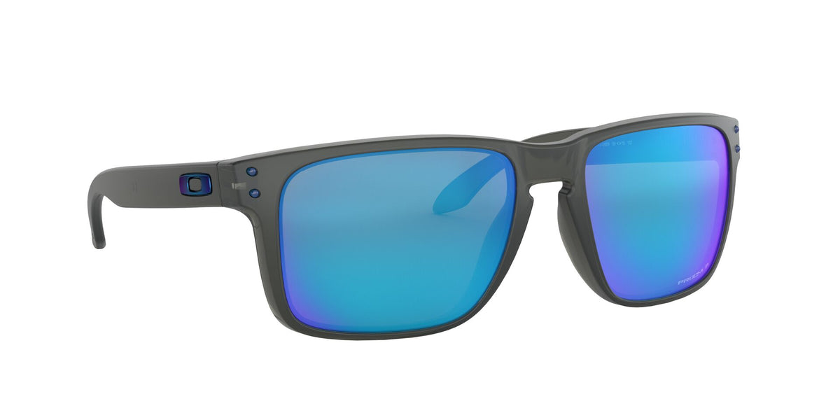 Oakley - Holbrook XL Gray/Blue Square Men Polarized Sunglasses - 59mm