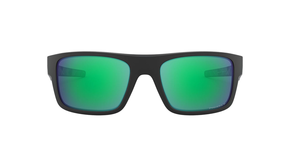 Oakley - Drop Point Black/Jade Wrap Men Polarized Sunglasses - 61mm