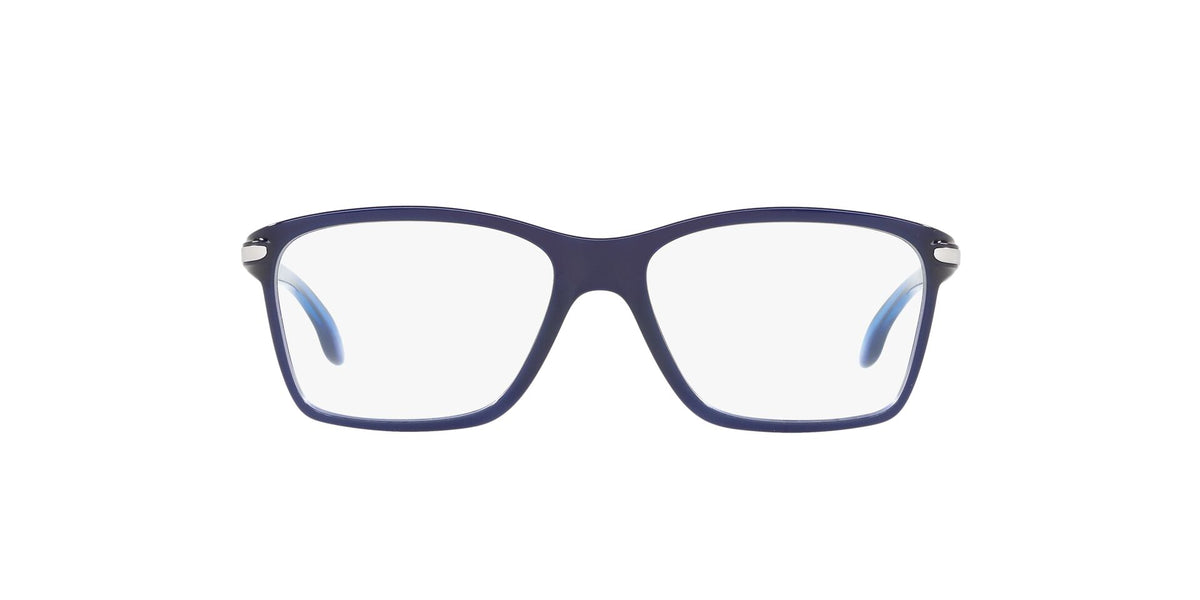 Oakley - Cartwheel Polished Ice Blue Rectangle Women Eyeglasses - 49mm