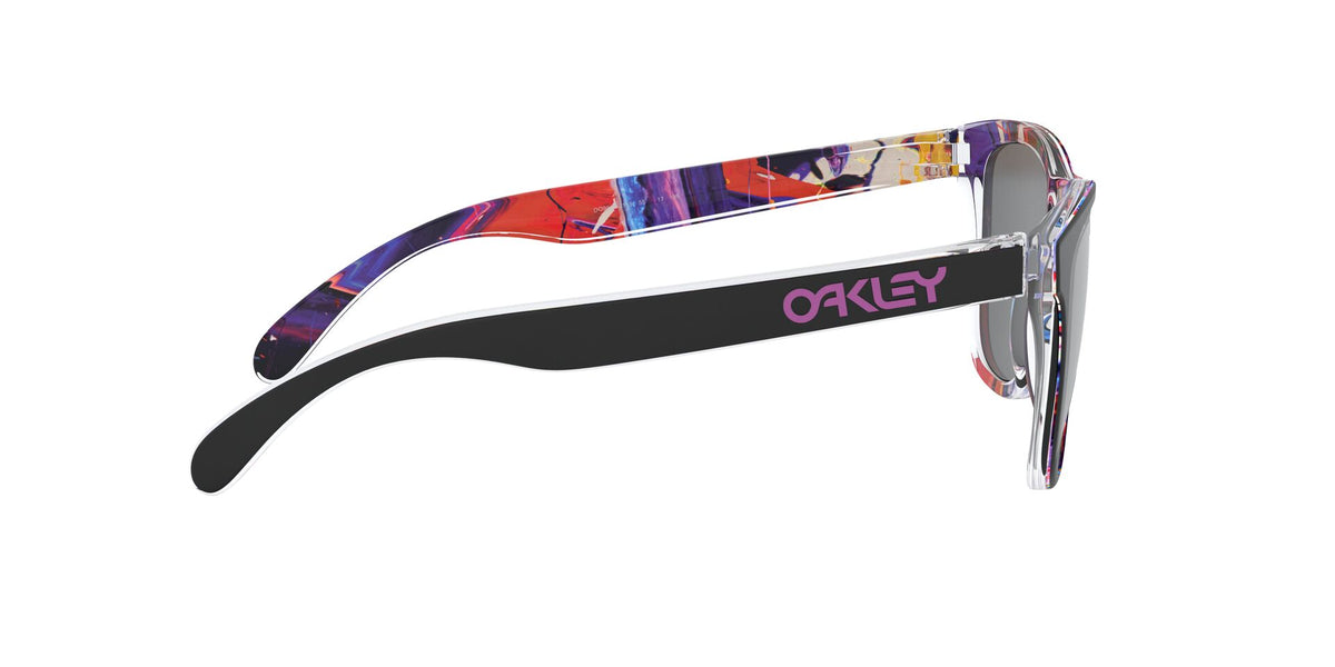Oakley - Frogskins Kokoro Black/Prizm Black Square Men Sunglasses - 55mm