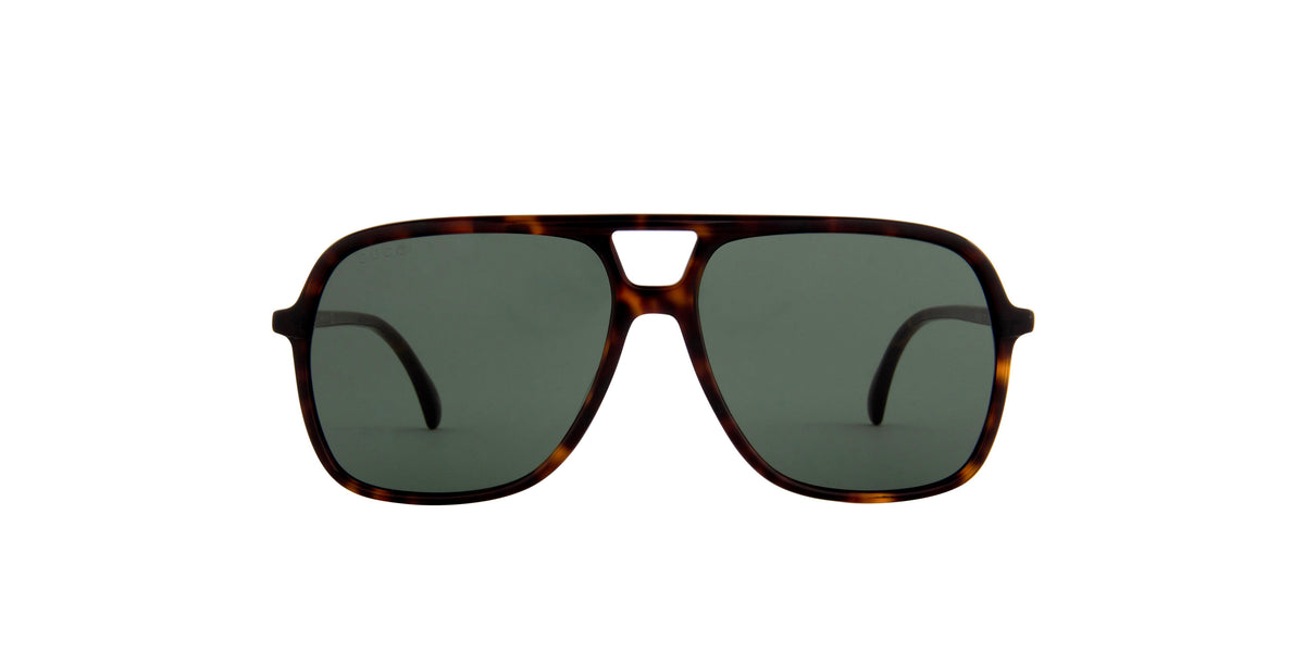 Gucci - GG0545S Havana Aviator Men Sunglasses - 58mm