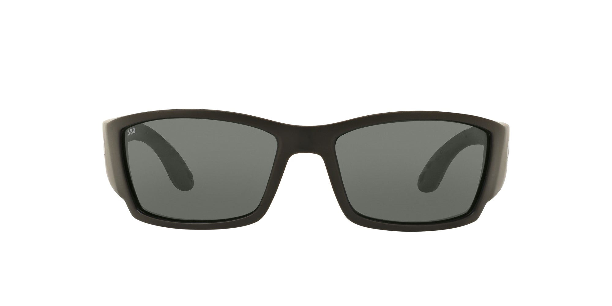 Costa Del Mar - Corbina F Matte Black/Gray Irregular Men Sunglasses - 62mm