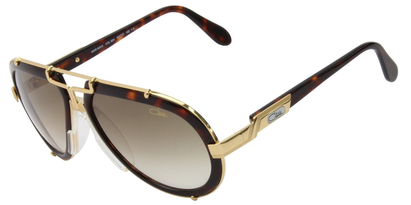 3cfe0f0714e8 Cazal - CZ 642 3 Gold - Brown sunglasses– Designer Eyes