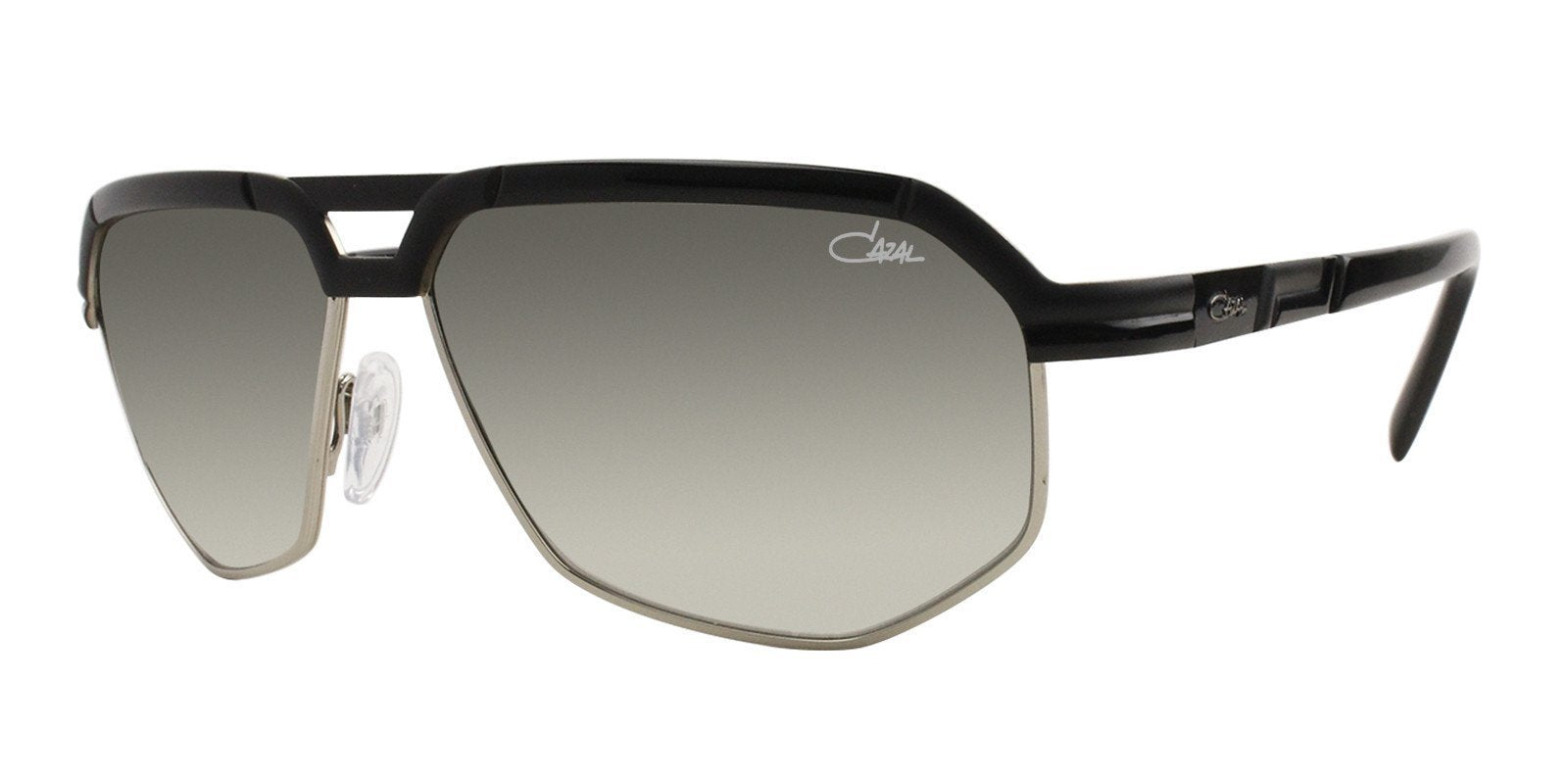 Cazal CZ9056 Black / Green Lens Sunglasses-Sunglasses-Designer Eyes