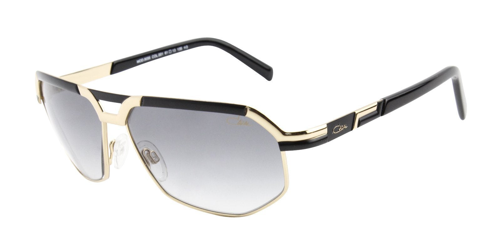 Cazal CZ9056 Gold / Gray Lens Sunglasses-Sunglasses-Designer Eyes