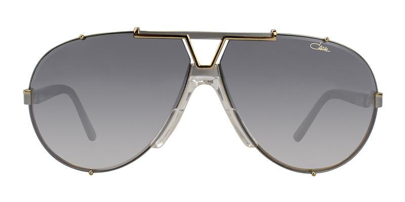 c2083f71574e Cazal - CZ909 Gold Gray - Gray-Sunglasses-Designer Eyes ...