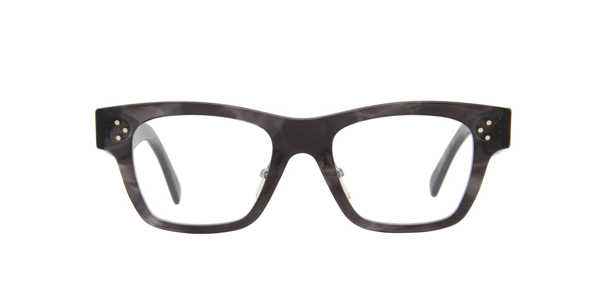 Celine - CL41428 Gray Rectangular Women Eyeglasses - 49mm-Eyeglasses-Designer Eyes