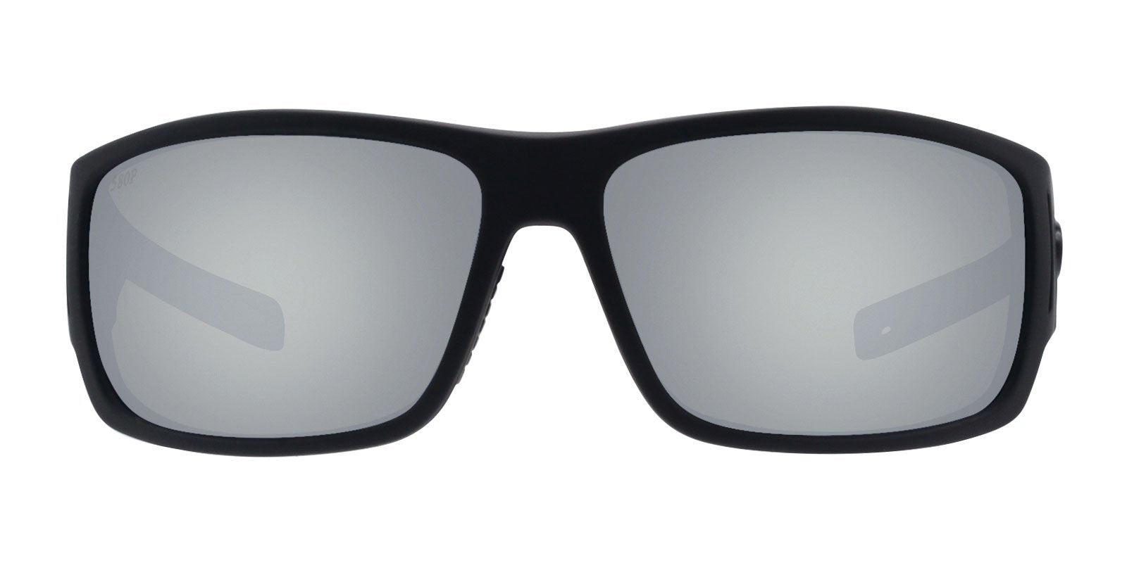 Costa Del Mar - Cape Black/Gray Polarized Rectangular Men Sunglasses-Sunglasses-Designer Eyes