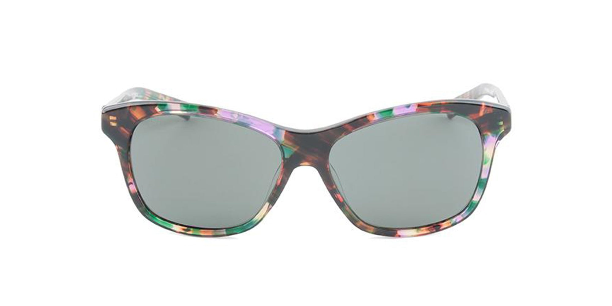 Costa Del Mar - Sarasota Tortoise/Green Polarized Rectangular Women Sunglasses-Sunglasses-Designer Eyes
