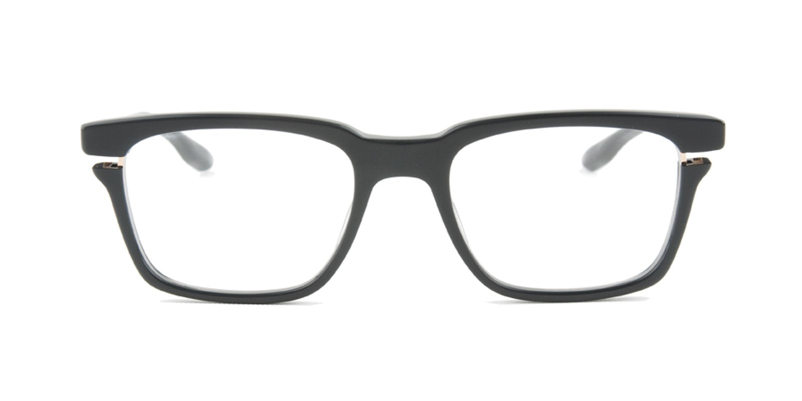 Dita - Avec Black Rectangular Unisex Eyeglasses - 52mm-Eyeglasses-Designer Eyes